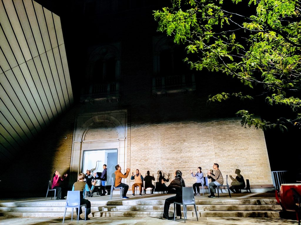 Royal Ontario Museum Nuit Blanche ニュイブランシュ