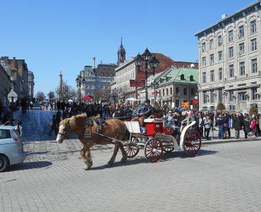 カナダ留学にオススメな人気都市 モントリオール 旧市街