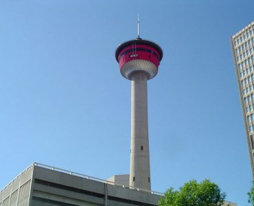 カナダ留学にオススメな人気都市 カルガリー タワー