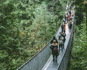 カナダ留学にオススメな人気都市 バンクーバー キャピラノ吊橋