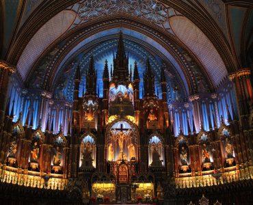 カナダ留学にオススメな人気都市 モントリオール ノートルダム聖堂